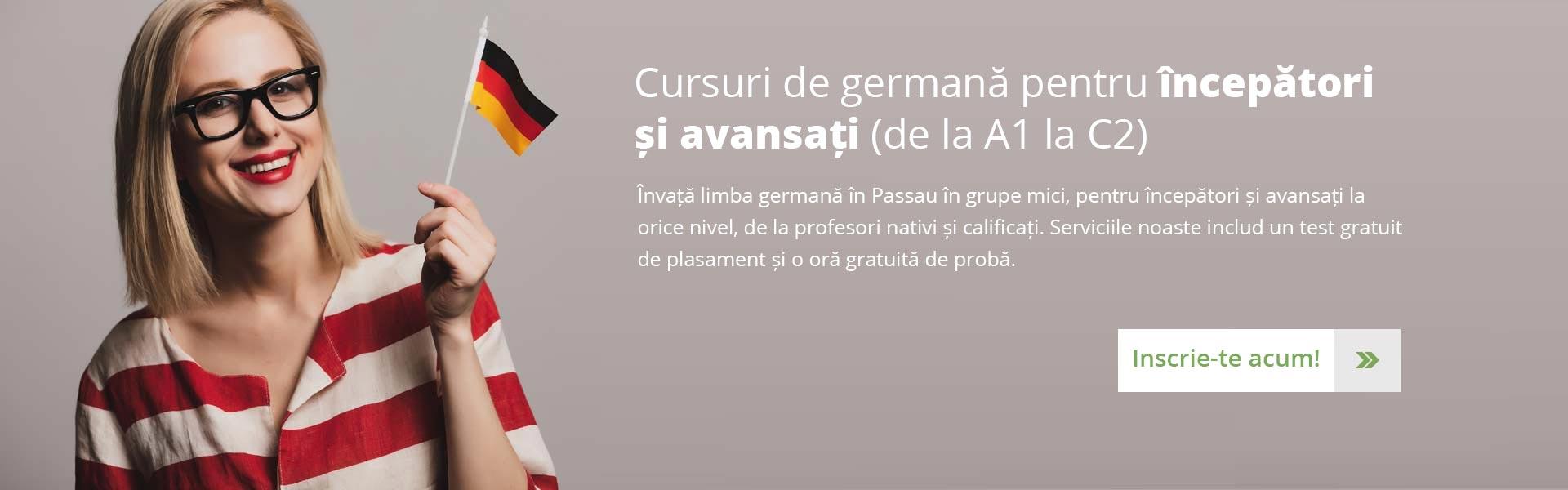 cursuri de germană pentru începători și avansați (de la A1 la C2)
